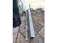 Catnic galvanised solid wall external heavy duty lintel