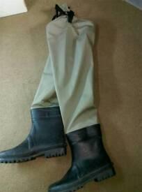 Scierra cc3 xp breathable thigh waders size 11/12 £50