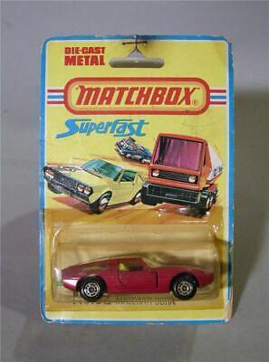"Matchbox Lesney Superfast MOC - 32b Maserati Bora - ARCH wheels ""3"" label"