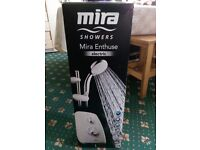 Mira enthuse electric shower bran new unused