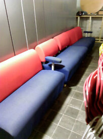 Waiting room soft seating