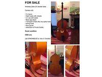 Andreas Zeller 3/4 Double Bass bundle