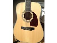 Ephiphone 12 string acoustic guitar
