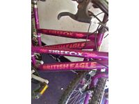 2 firefox british eagle bikes for sale