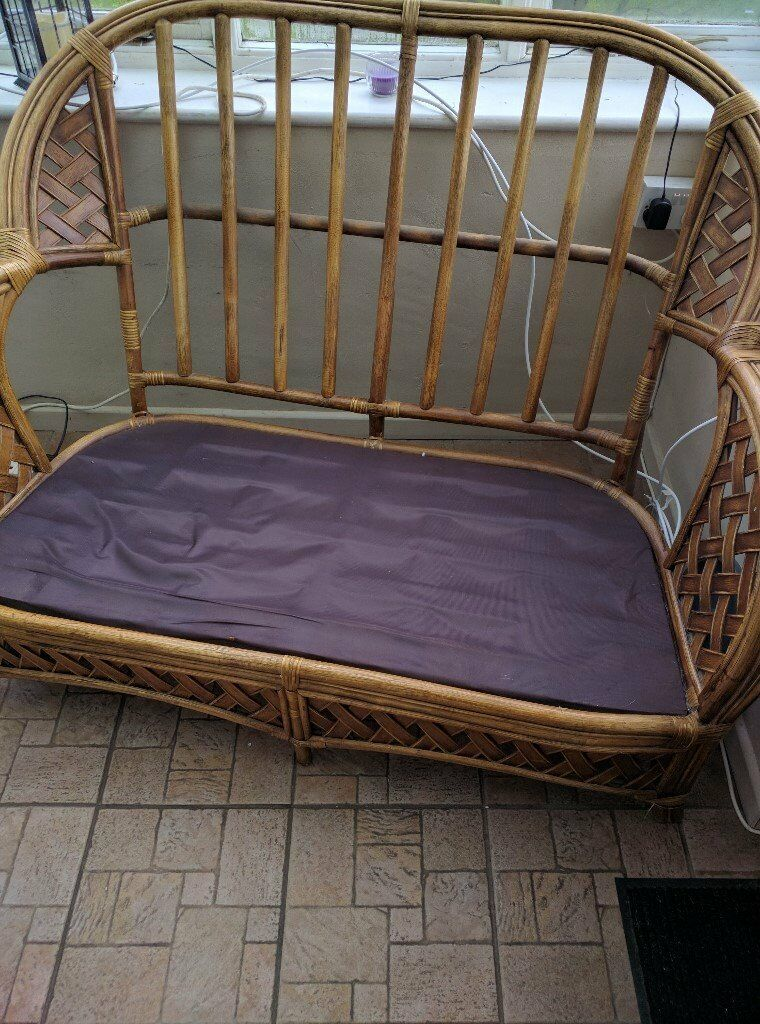 cane furniture set.. Free to collect.