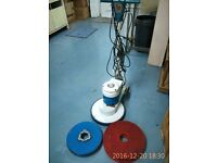 Victor Sprite 400 Buffing Machine Super Speed, includes Drive Board and Pads!