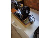 Original 1957 portable electric Singer sewing machine