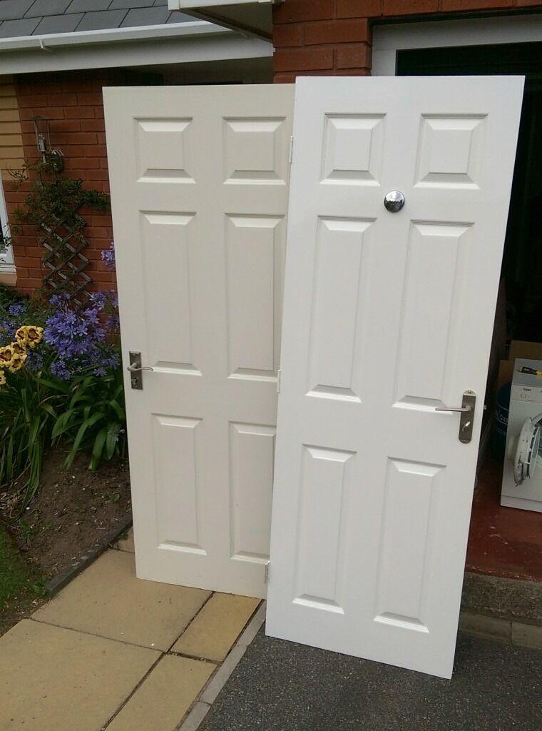 Interior White Wooden Panelled Doors In Exeter Devon Gumtree