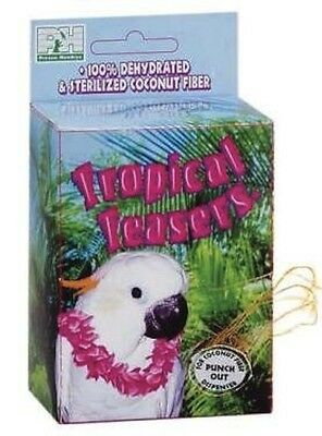 Coco Box Coconut Nest Builder By Prevue Pet For Canaries  Finches  Preening Play