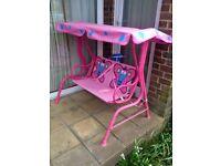 Kids garden swing chair