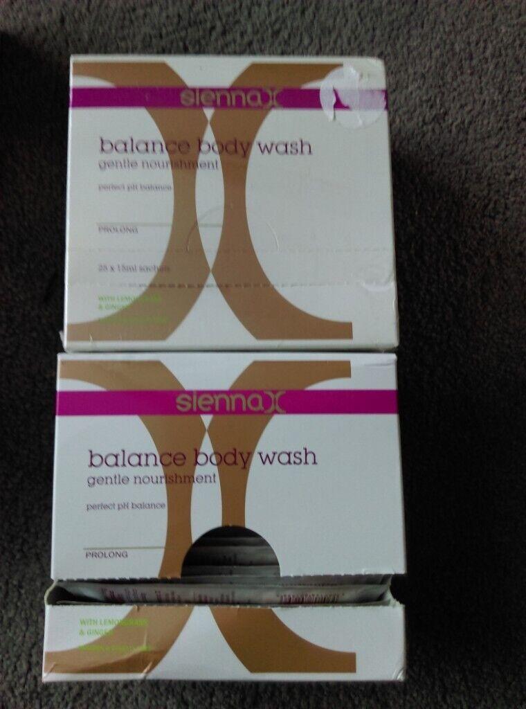 Sienna X balance body wash sachets (50 x 15ml) | in Dunfermline, Fife |  Gumtree