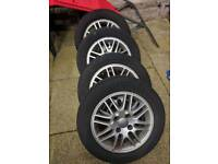 """5 x 2004 Ford Focus Wheels 15"""" + Exhaust System"""