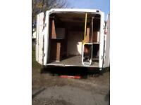 Ford transit Luton bt open reach fibre glass BODY ONLY back camper conversion