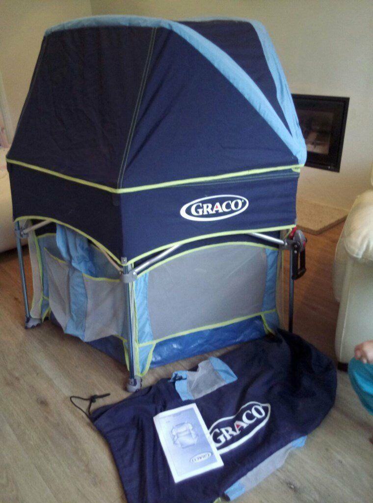 Graco Pack N Play Sport Playpen With Canopy Sunshade