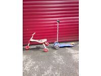 Scuttle Bug and Micro Mini Classic Scooter - must go this weekend