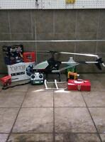 Gas helicopter ! Hirobo shuttle plus+ Full kit