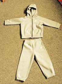 Boys Grey Nike Tracksuit age 18-24 months