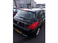 Peugeot, 308, Hatchback, 2012, Manual, 1560 (cc), 5 doors