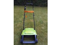 Electric Lawn Rake - Ideal for Clearing Gardens and Removing Grass