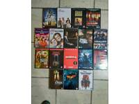 17 DVD movies, great condition, some unopened
