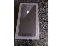 Apple I phone 8 plus brand new open to all networks
