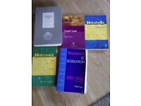 Planning to study LAW? 5 Study books - Job Lot £10