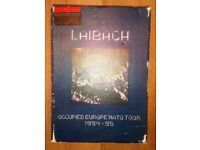 Laibach Occupied Europe Nato Tour 1994-95 VHS Video + Cd - Rare