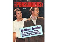 VINTAGE 1972 PERSUADERS HOLIDAY SPECIAL COMIC