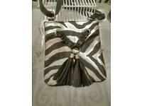 Pavers Zebra Print Handbag