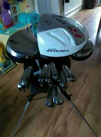 Full set of Titliest tour model irons 3-SW + Dunlop Rebel Driver Pro-Gen 3+5 Wood bag and putter