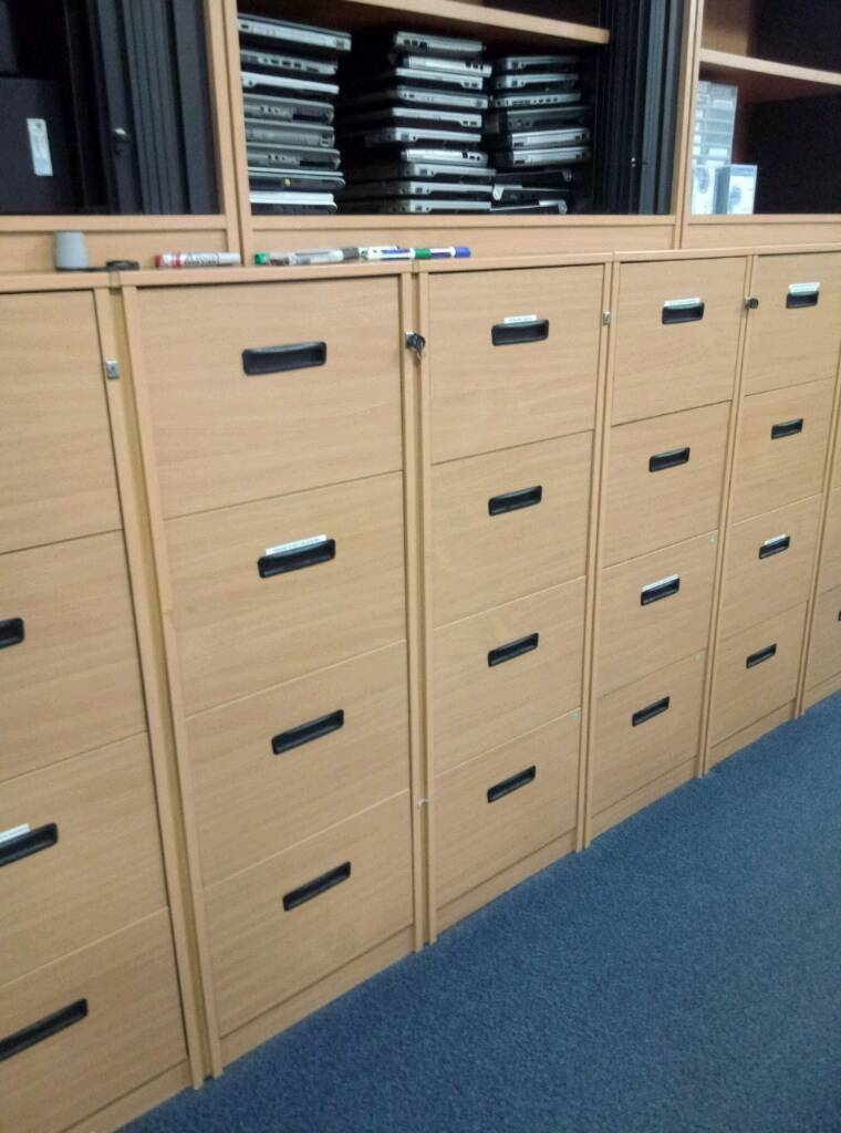 Filing Cabinet Free Source 4 Drawer Cabinets Excellent Condition In Newcastle Tyne