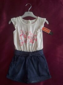 Debenhams Bluezoo Romper 2-3 years