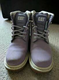 Ladies Cat Boots - Purple Size 4