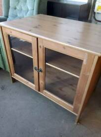 TV unit in solid pine