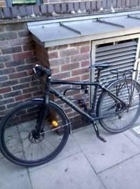 Cannondale fat boy 3, hybrid, commuter bike