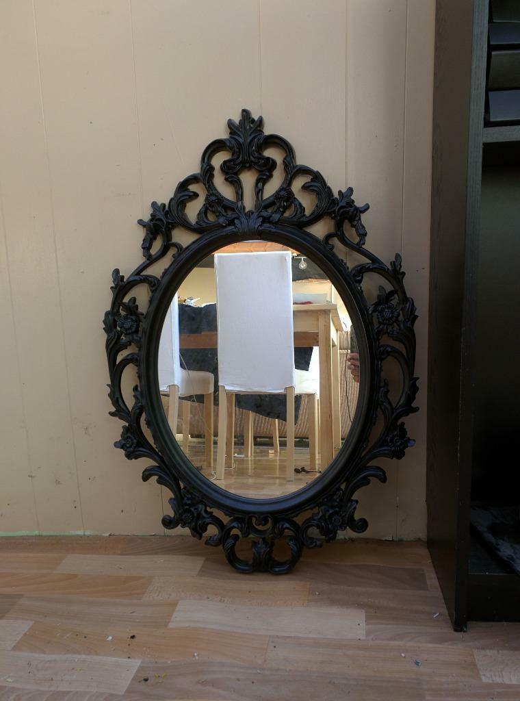 Ikea ung drill mirror black buy sale and trade ads for Ung drill mirror