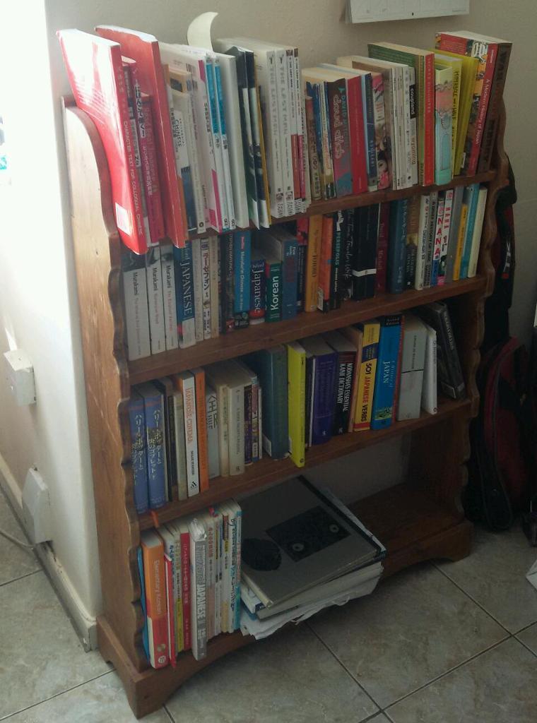 Solid wood bookcase in Islington London Gumtree : 86 from www.gumtree.com size 760 x 1024 jpeg 88kB