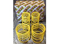 GENUINE APEX LOWERING SPRINGS TOYOTA MR2 MK2 SW20 TURBO NON TURBO BRAND NEW 30MM DROP