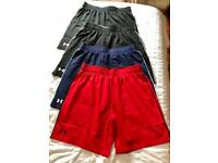 Under Armour Shorts - 4 Pair XL Size (Brand New)