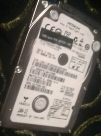 320gb Hitachi sata hard drive (laptop)