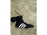 Size 8-1/2 Adidas boxing shoes