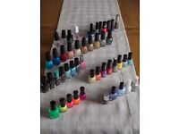 ASSORTED NAIL POLISHES, CHINA GLAZE, OPI, BARRY M, RIMMEL etc