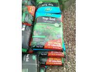 Bags of Westland Top Soil