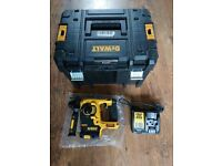 Dewalt DCH253 18V SDS Drill Comes With T Stack Case & Charger
