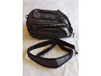 BikeHut Bicycle Rear Pannier Rack Bag – Grey / Black – Very Good Condition