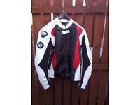 BMW leather motorbike jacket