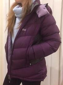 RAB ladies winter waterproof jacket