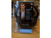 Sennheiser HD449 closed back headphones - brand new in box.