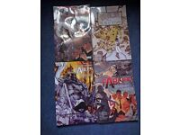 Volumes 4-7 of Fables