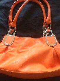 Ladies orange bag